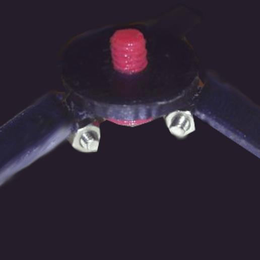 tiny_tripod_01.png Download free STL file Tiny Tripod • 3D printable object, noctaro
