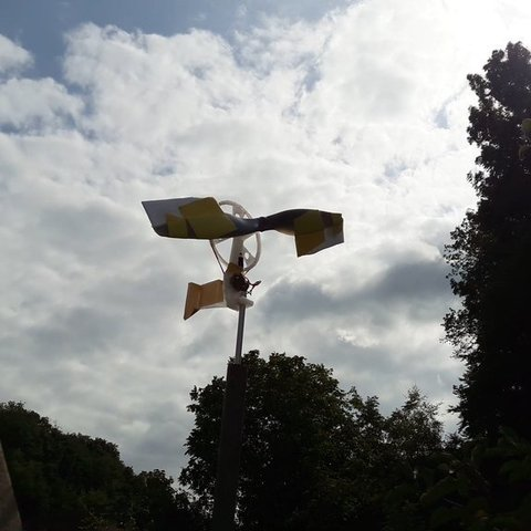 Free 3D print files Airslicer windmill (work in progress), noctaro