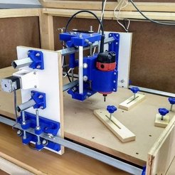 Free 3D printing designs CNC Machine, Leon77