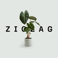 Free 3D printer model Zigzag Planter, ArthurDerksen