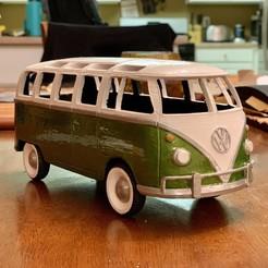 Fichier imprimante 3D gratuit Volkswagen Bus des années 1970, mtungate