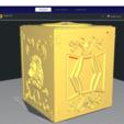 Télécharger fichier impression 3D SIGNE LEO BOX PANDORA BOX SAINT SEIYA / LLAVERO / PORTE-CLÉS, Imageniero3D