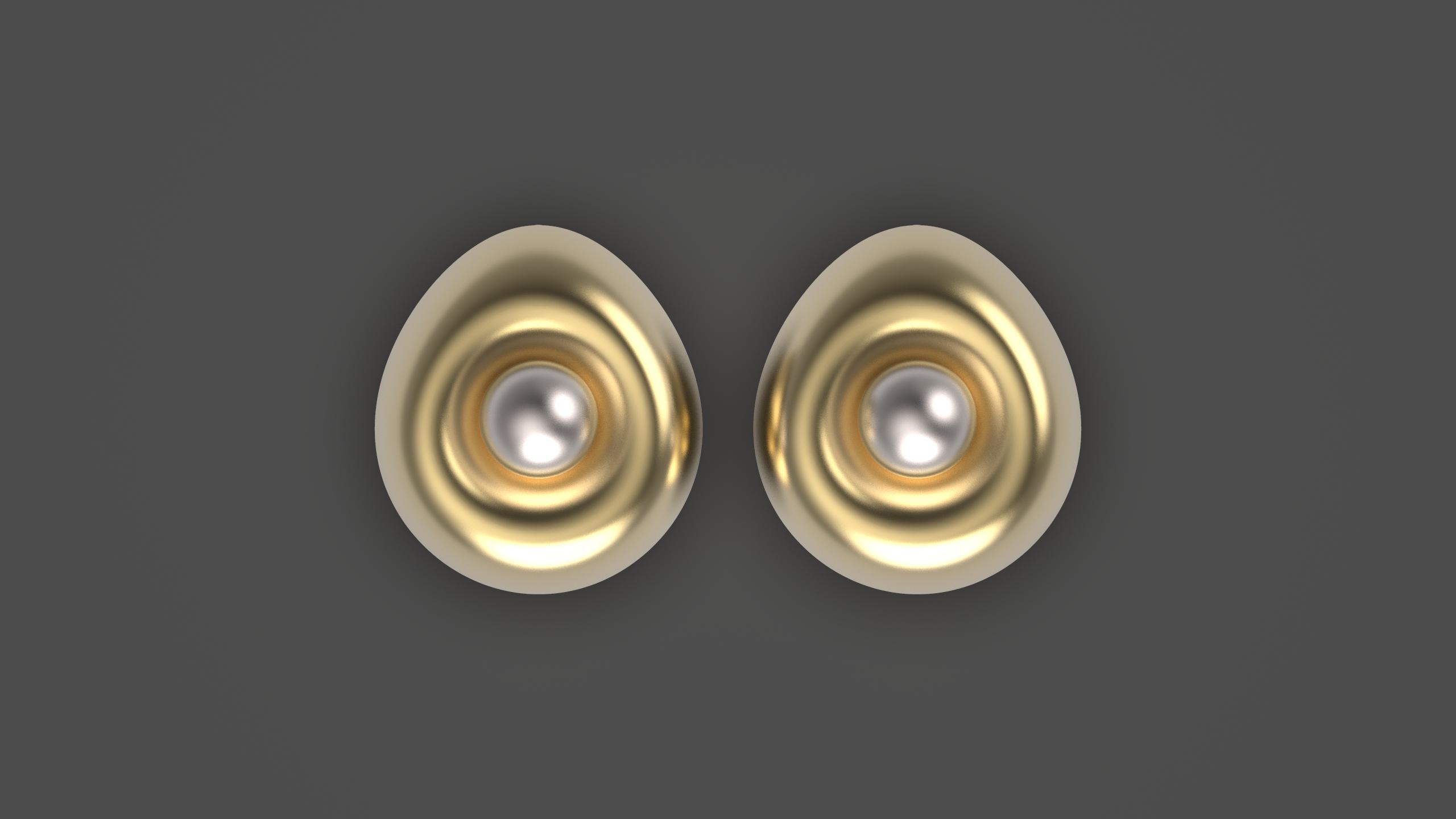 1.614.jpg Télécharger fichier OBJ gratuit Boucles d'oreilles oeuf • Design imprimable en 3D, Alien_Loo