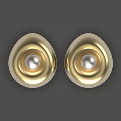 Download free 3D printer files Egg earrings, Alien_Loo