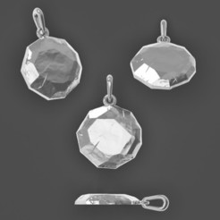 Free STL files Stone pendant, Averimer
