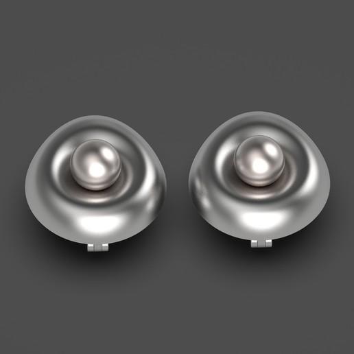 1.619.jpg Télécharger fichier OBJ gratuit Boucles d'oreilles oeuf • Design imprimable en 3D, Alien_Loo