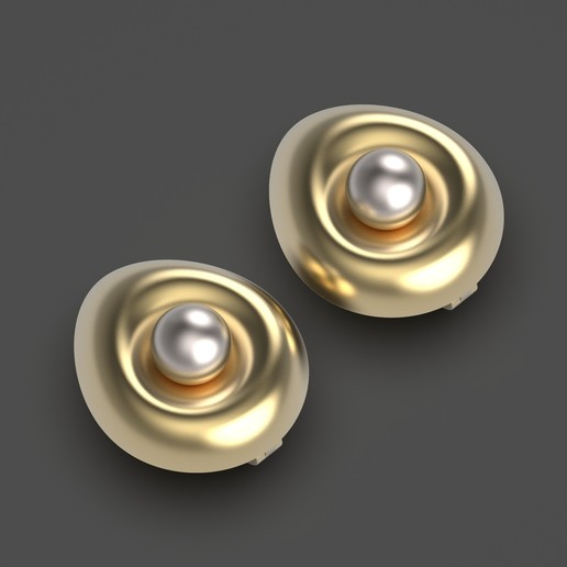 1.618.jpg Télécharger fichier OBJ gratuit Boucles d'oreilles oeuf • Design imprimable en 3D, Alien_Loo