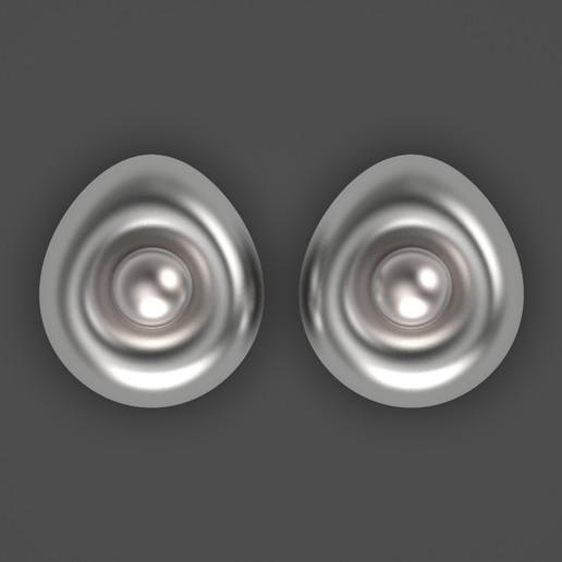 1.615.jpg Télécharger fichier OBJ gratuit Boucles d'oreilles oeuf • Design imprimable en 3D, Alien_Loo