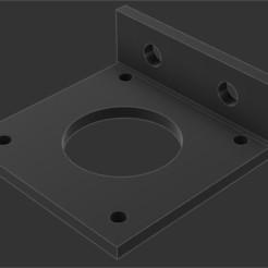 Impresiones 3D Soporte motor eje Z alfawise U30, djgl02