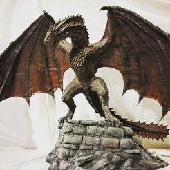 STL Dragón encaramado, ByteForge