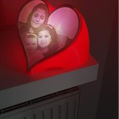 20200209_083655.jpg Download STL file Valentine's Day lithophane • 3D printer design, erolgul