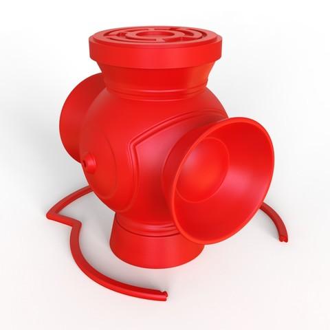 Télécharger fichier STL gratuit Lanterne Sinestro Corp • Design pour impression 3D, roberhlez
