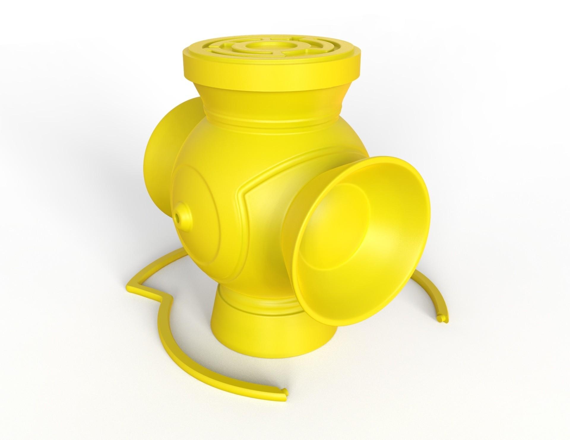 untitled.26.jpg Download free STL file Sinestro Corp Lantern • 3D printing design, roberhlez