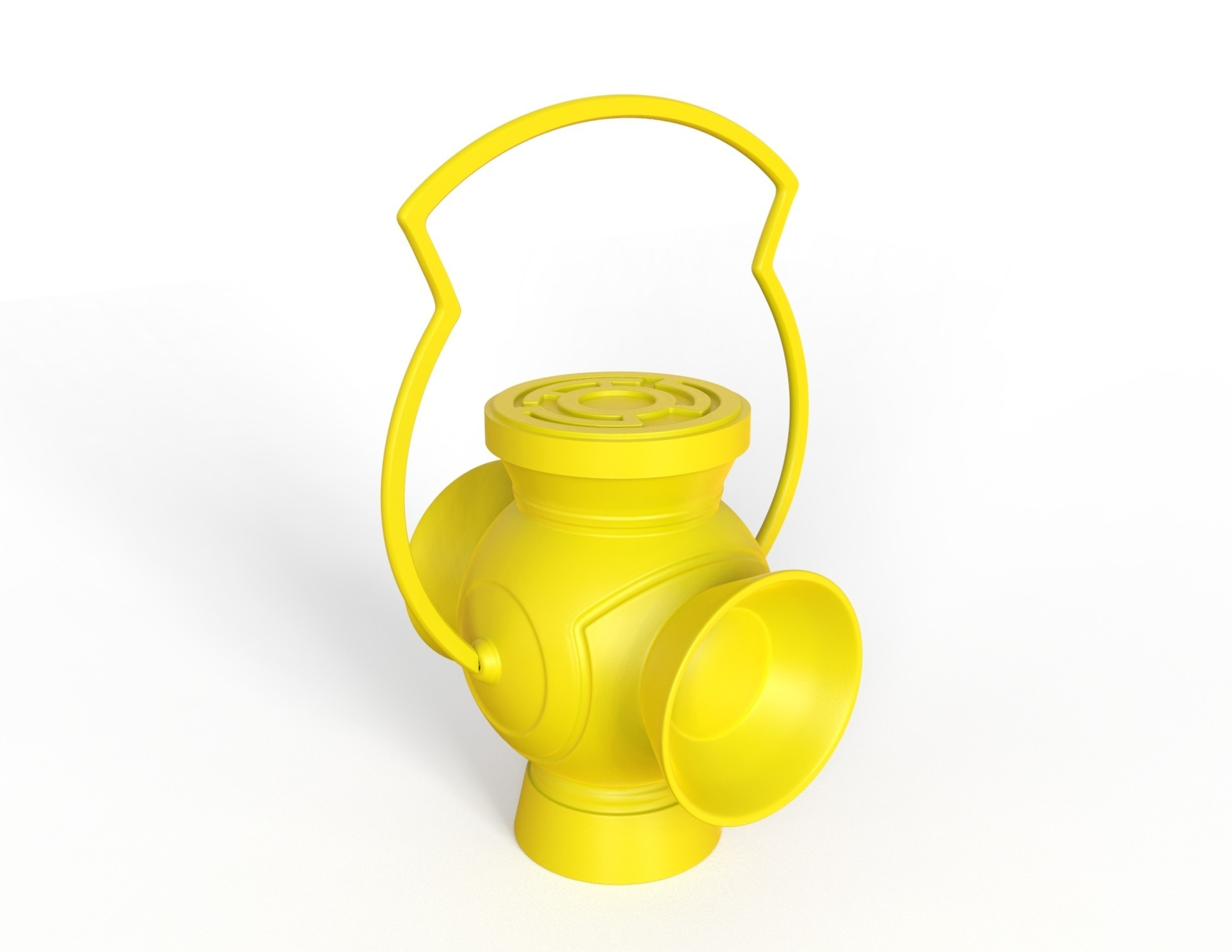untitled.27.jpg Download free STL file Sinestro Corp Lantern • 3D printing design, roberhlez