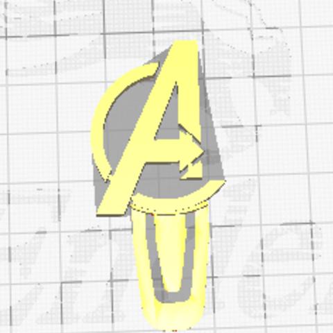 Diseños 3D bookmark avengers, saludamee