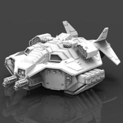 Descargar archivos STL gratis Transporte de asalto a la gravedad de Raven Darkstar, ACEMinis