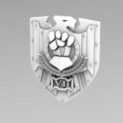 Descargar diseños 3D gratis Escudo de Tormenta de la Primera Legión, ACEMinis
