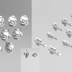 Imprimir en 3D Paquete Deathvigil Last Gen, ACEMinis