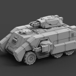 AMV Full Build (2).jpg Download STL file Armored Might AMV Complete Kit • 3D printer object, ACEMinis