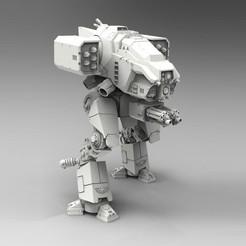 Imprimir en 3D gratis El caminante de asalto de Stormhound, ACEMinis