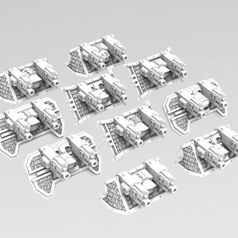 3D printer models Deathvigil Bike Fairings, ACEMinis
