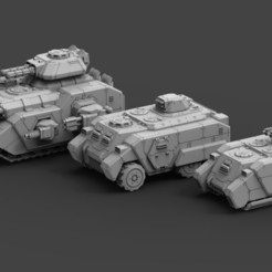 Armored Might Render.jpg Download STL file Armored Might Full Release • 3D printable model, ACEMinis