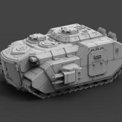 MRHV Full Build (1).jpg Download STL file Armored Might MRHV Complete Kit • 3D print design, ACEMinis