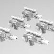 3D print files Deathvigil Weapons, ACEMinis