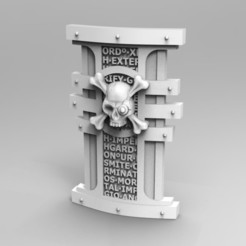 Download STL Deathvigil Storm Shield #1, ACEMinis