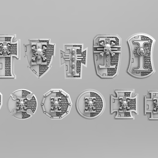 Download 3D printer designs Deathvigil Bundle, ACEMinis