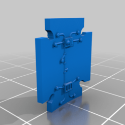 GB_S_SS_DBL_Raised.png Download free STL file Small Double Shield of the Pack (Raised Runes) • 3D printer object, Tatsura