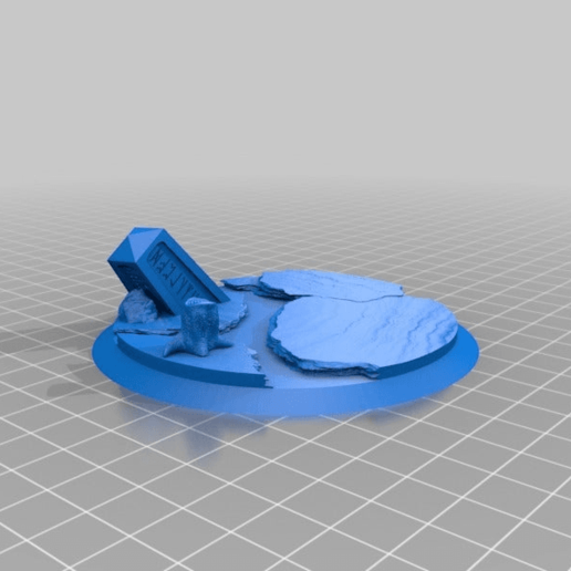 Download free 3D printing templates 90mm base, jackrocco