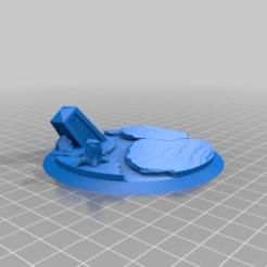 Impresiones 3D gratis Base de 90mm, Tatsura