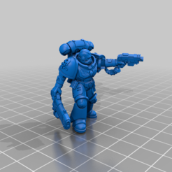 sgt.png Download free STL file Prime wolves that Blast things to Hell! (1 piece - separated not available) • Template to 3D print, Tatsura