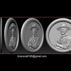 001.jpg Télécharger fichier STL Lord Baden-Powell • Plan à imprimer en 3D, briarena8185