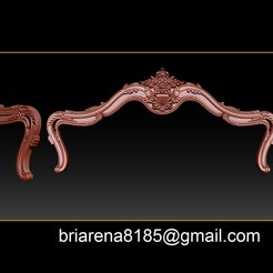 000_poster1.jpg Download STL file Bed 3D relief models STL Files used for CNC Router  • 3D printer object, briarena8185