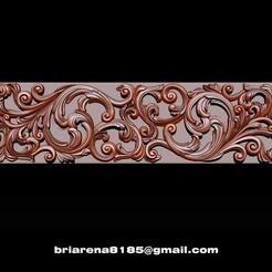 001.jpg Download STL file 3D STL Models CNC Router - Carved decor • 3D printable object, briarena8185
