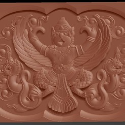 001.jpg Download free STL file Bas Relief Garuda Bali_briarena8185@gmail.com • 3D printer model, briarena8185