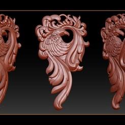 001_Eagle bird Pendant jewelry.jpg Télécharger fichier STL Bijoux avec pendentif en forme d'aigle • Design imprimable en 3D, briarena8185