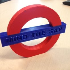 Download free 3D printer designs Mind the Gap, Vishell