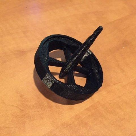Télécharger plan imprimante 3D gatuit Mon premier toupie, Vishell