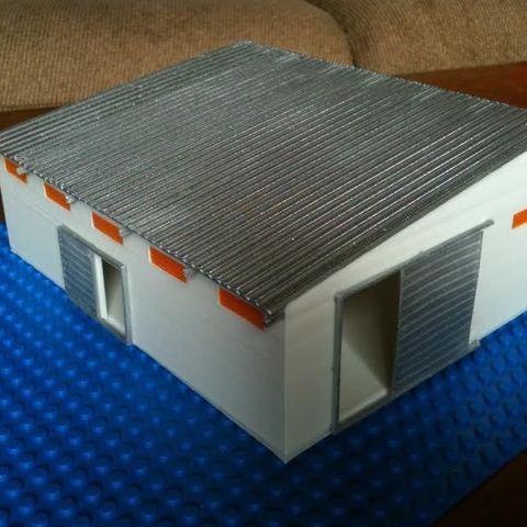 Télécharger objet 3D gratuit Structure du dépôt, Vishell