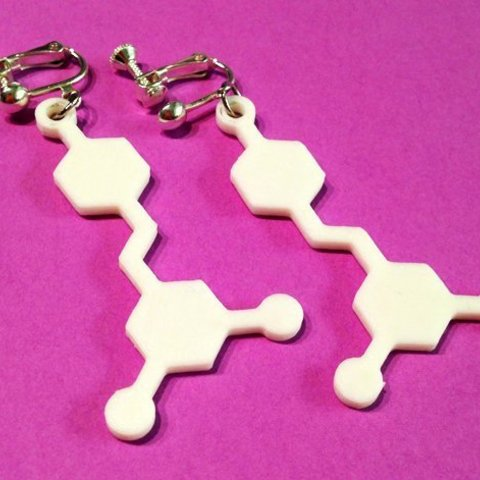 Free 3D printer designs Resveratrol Molecule, Vishell