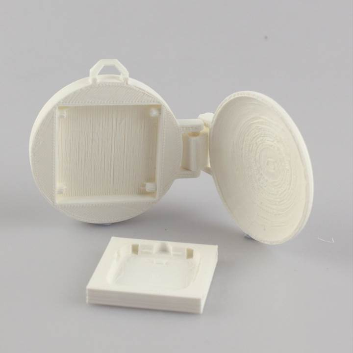 Poket_Watch_for_Pebble_display_large.jpg Download free STL file Pocket Watch for Pebble Time • 3D printing object, Vishell