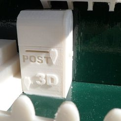 Free 3D printer files Mailbox, Vishell