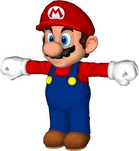 mario_display_large.jpg Télécharger fichier STL gratuit Mario Bros Split • Plan imprimable en 3D, Vishell