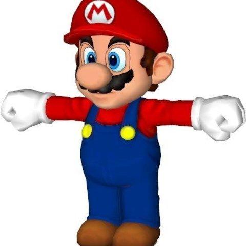 Download free 3D model Mario Bros Split, Vishell
