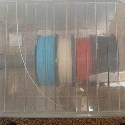 Free 3D printer model Filament Spool Holder for 5 - 6 spools, Vishell