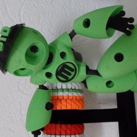 Free 3D printer files Baseball Cap for Robot Mark II ・ Cults
