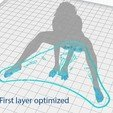 3D print files Nude Female Girl  Sitting Spreading Legs Sexy Pose, gafeel